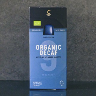 ORGANIC DECAFFEINATED